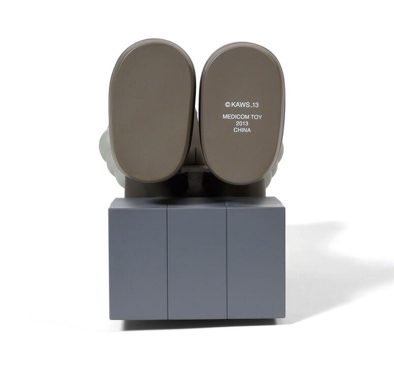 KAWS, 'COMPANION (PASSING THROUGH) (Brown)', 2013, Sculpture, Painted cast vinyl, DIGARD AUCTION