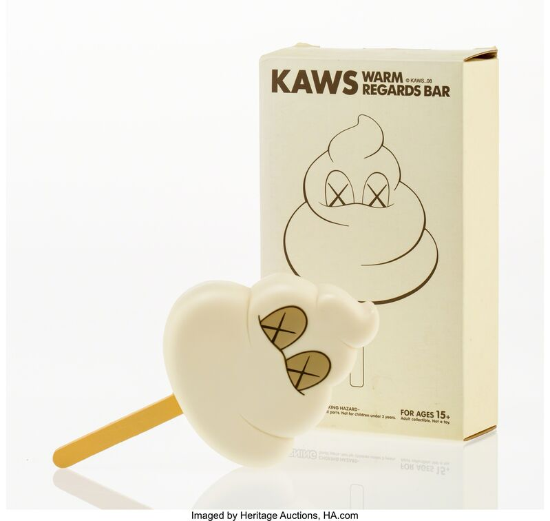 KAWS, 'Warm Regards Bar (White)', 2008, Other, Painted cast vinyl, Heritage Auctions