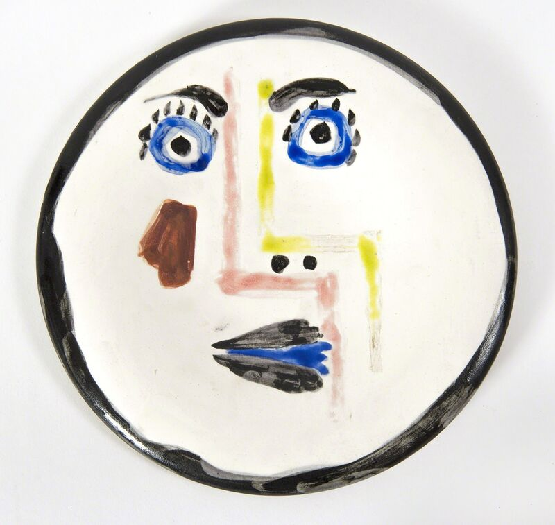 Pablo Picasso, 'Visage n°192 (A.R.492)', 1963, Design/Decorative Art, Painted and glazed ceramic, HELENE BAILLY GALLERY