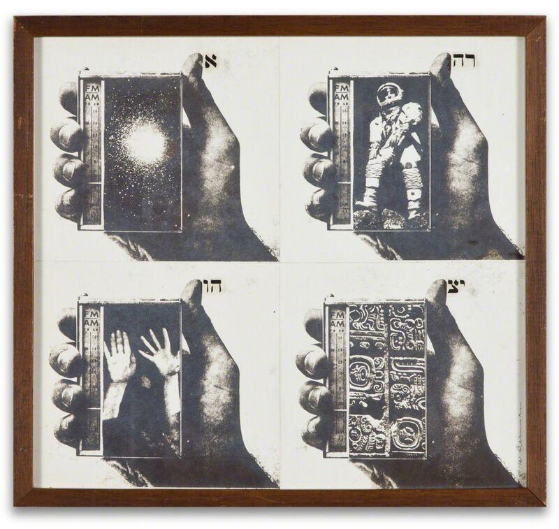 Wallace Berman, 'Untitled', ca. 1964, Mixed Media, Verifax collage, Kohn Gallery