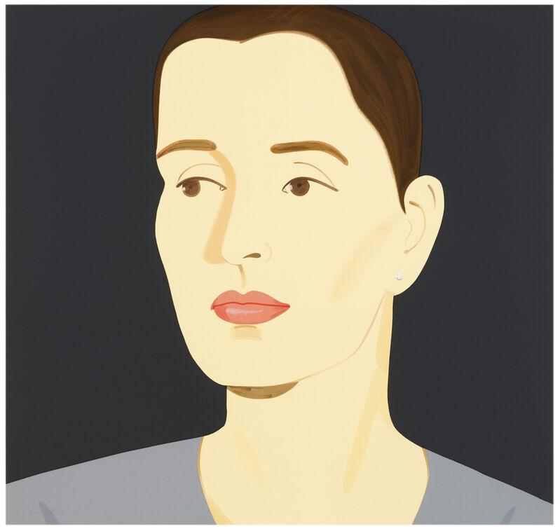 Alex Katz, 'Alex Katz, 'Vivien' 2012 Print', 2012, Print, 41-color silkscreen on 2-ply museum board, Hirth Fine Art