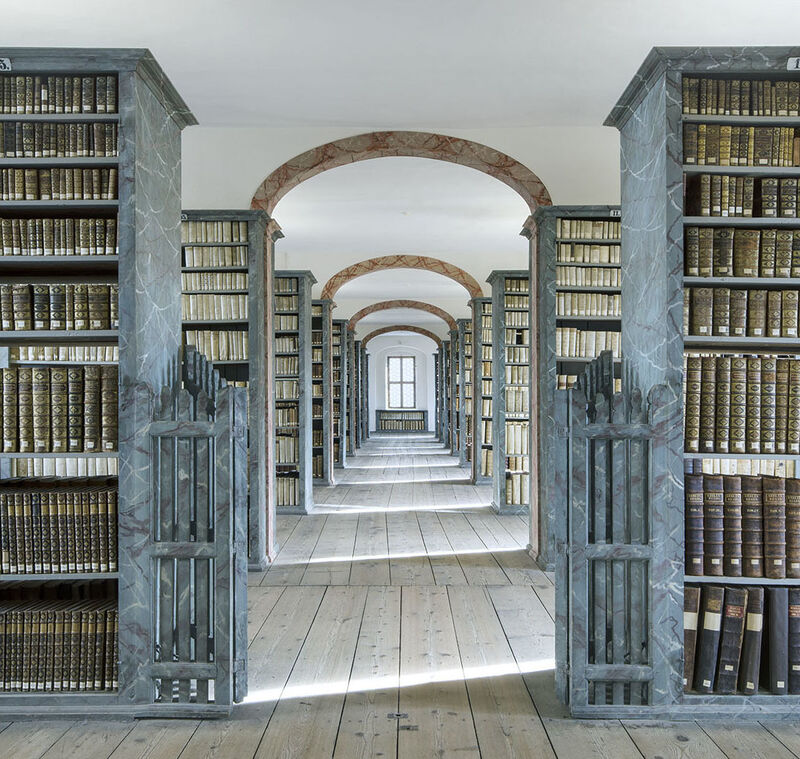 Reinhard Gorner, 'Francke Foundations II (Library, Halle, Germany)', 2014, Photography, Lambda Print, Undercurrent Projects
