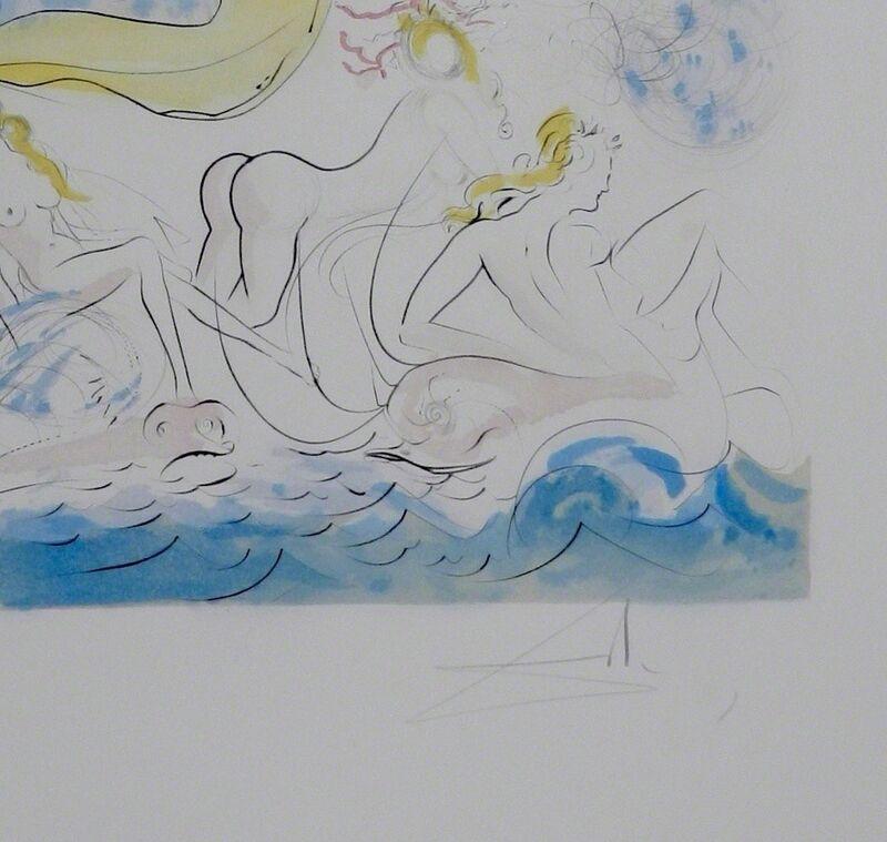 Salvador Dalí, 'Hommage a Albrecht Durer Triomphe de Venus', 1971, Print, Etching, Fine Art Acquisitions Dali