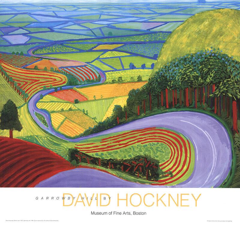 David Hockney, 'Garrowby Hill', 2010-2016, Ephemera or Merchandise, Offset Lithograph, ArtWise