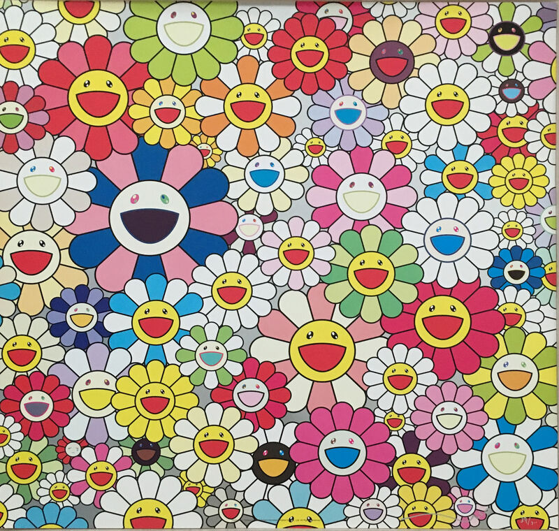 Takashi Murakami, 'Flowers in Heaven', Print, Offset lithograph, MSP Modern Gallery Auction