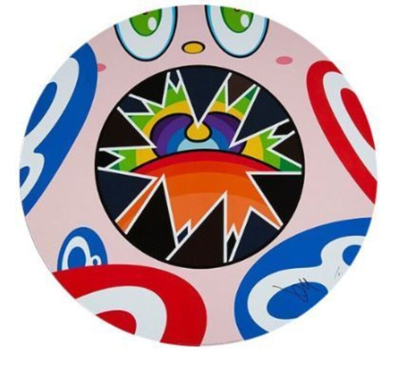 Takashi Murakami, 'We Are The Square Jocular Clan (Rainbow) (8)', 2018, Print, Offset lithograph, Lougher Contemporary