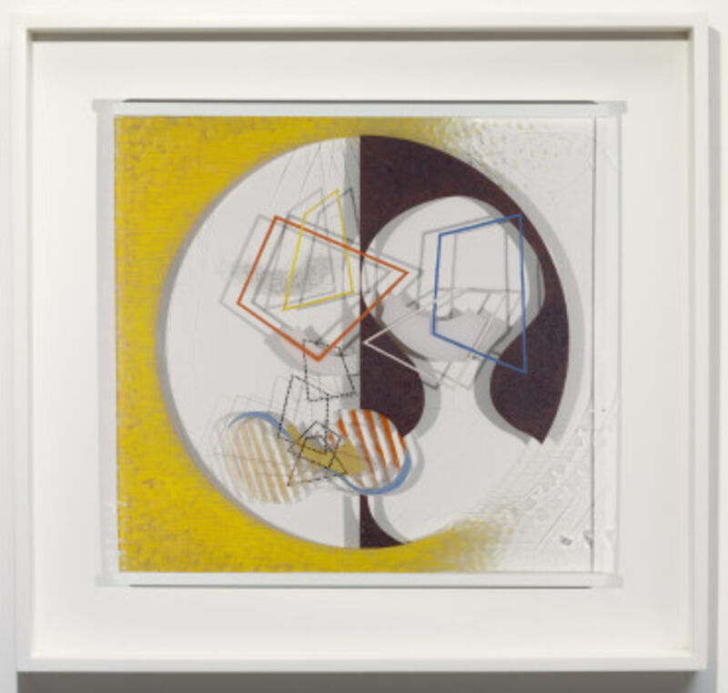 László Moholy-Nagy, 'Space Modulator', 1939-1945, Mixed Media, Oil and incised lines on Plexiglas, in original frame, Guggenheim Museum