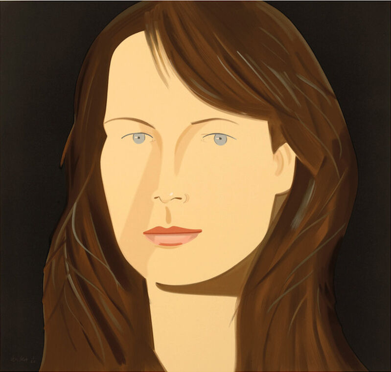 Alex Katz, 'Alex Katz, 'Sophie' 2012 Print', 2012, Print, 38-color silkscreen on 2-ply museum board, Hirth Fine Art