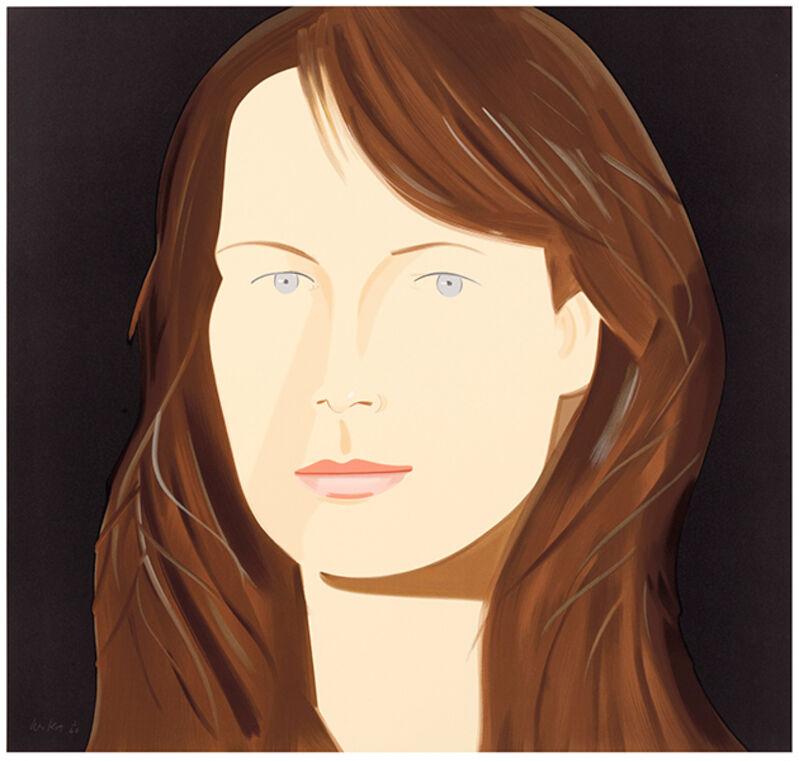 Alex Katz, 'Sophie', 2012, Print, 38-color silkscreen on 2-ply musem board, Haw Contemporary
