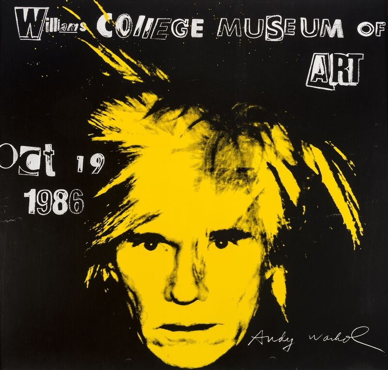 Andy Warhol, 'Williams College Museum of Art', 1986, Print, Offset lithograph printed in colours, Forum Auctions