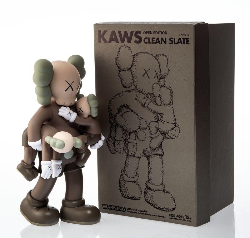 KAWS, 'Clean Slate (Brown)', 2018, Sculpture, Painted cast vinyl, Heritage Auctions
