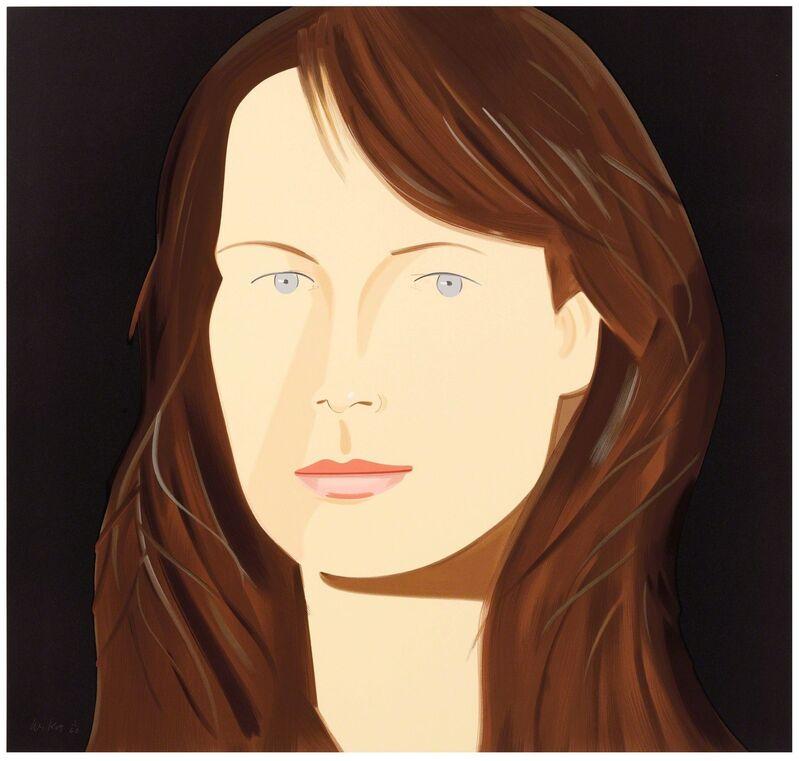 Alex Katz, 'Sophie', 2012, Print, Silkscreen in thirty-seven colors, Corridor Contemporary