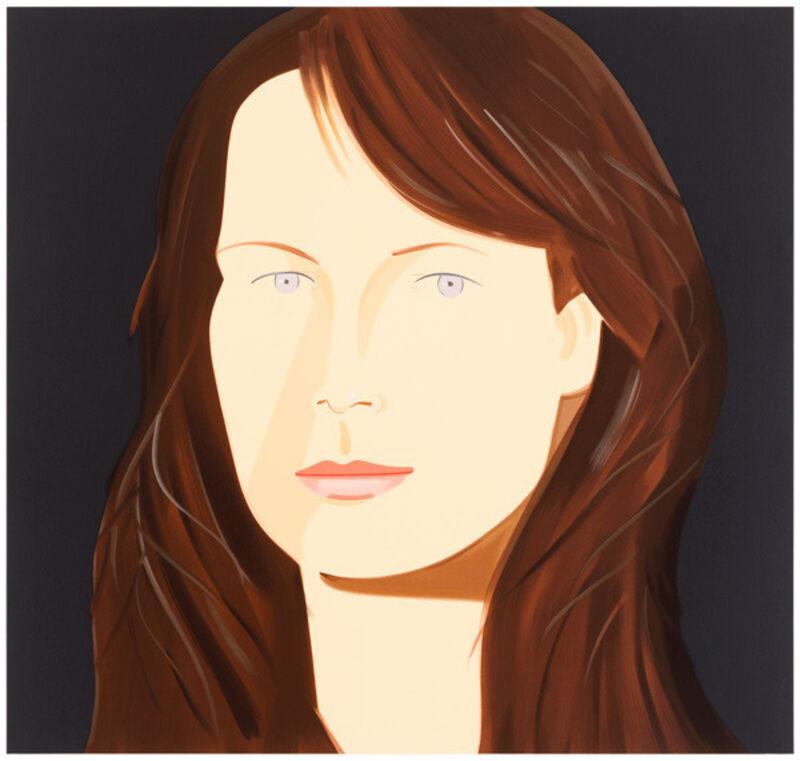 Alex Katz, 'Sophia', 2012, Print, 38-colour screenprint, Nikola Rukaj Gallery