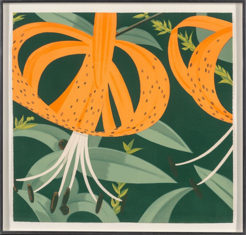 Alex Katz, 'Superb Lillies', 1972, Print, Lithograph in colors on Arches paper, Heritage Auctions