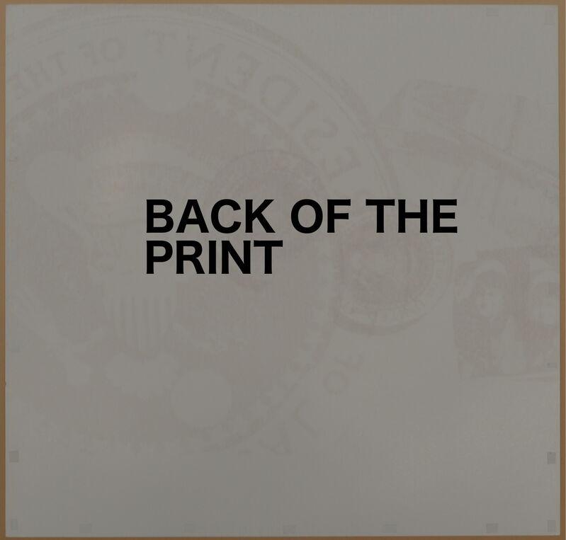Andy Warhol, 'Flash, Silver Presidential Seal', 1968, Print, Original screen print., NCAG