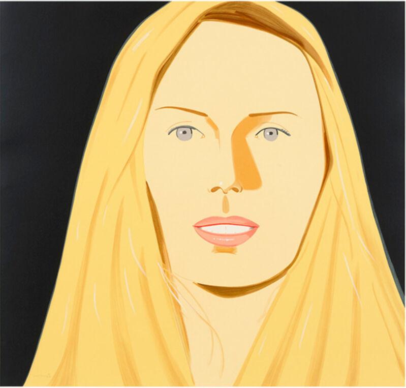 Alex Katz, 'Alex Katz, 'Sara' 2012 Print', ca. 2012, Print, 32-color silkscreen on 2-ply museum board, Hirth Fine Art