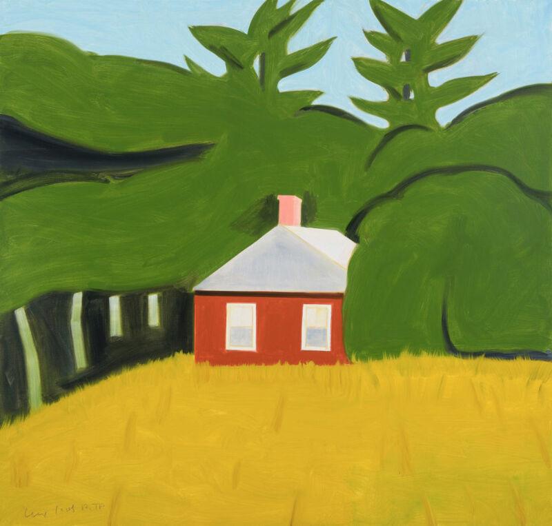 Alex Katz, 'Alex Katz, Red House', 2016, Print, Archival pigment inks on fine art paper, Oliver Cole Gallery