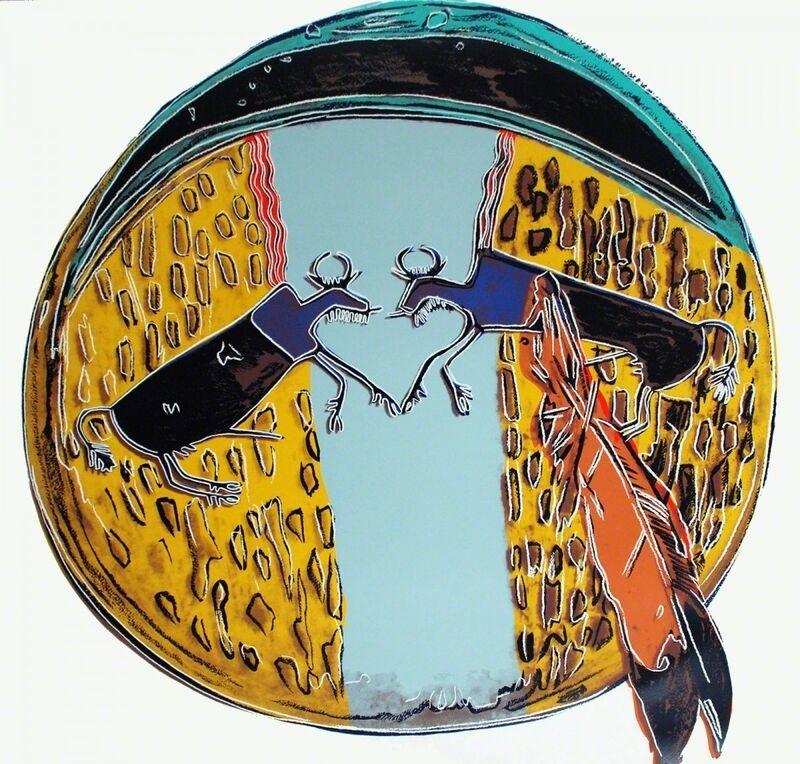 Andy Warhol, 'Plains Indian Shield (FS II.383)', 1986, Print, Screenprint on Lenox Museum Board, Revolver Gallery