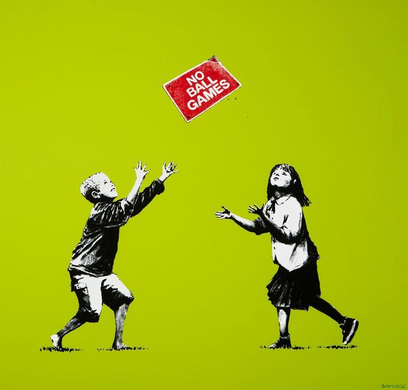 Banksy, 'No Ball Games A/P ', 2009, Print, Screenprint, Rosenfeld Gallery LLC