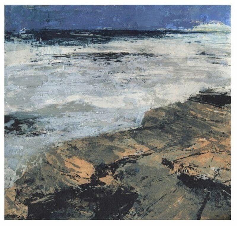 Donald Teskey, 'Fractured Shoreline IV', 2013, Print, Intaglio & Carborundum, Stoney Road Press