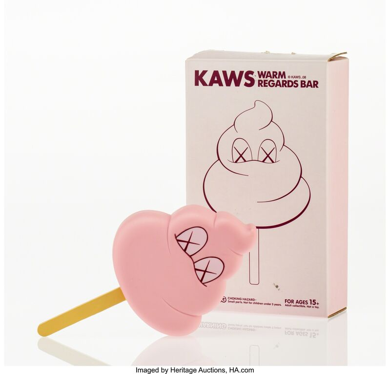 KAWS, 'Warm Regards Bar (Pink)', 2008, Other, Painted cast vinyl, Heritage Auctions