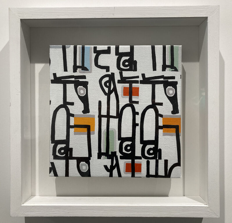 Sergio Fermariello, 'Untitled', 2021, Painting, Oil on canvas, Studio Trisorio