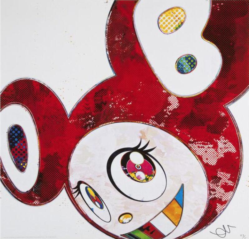 Takashi Murakami, 'And Then x6 (Vermillion: The Superflat Method)', 2013, Print, Offset lithograph on paper, Marcel Katz Art