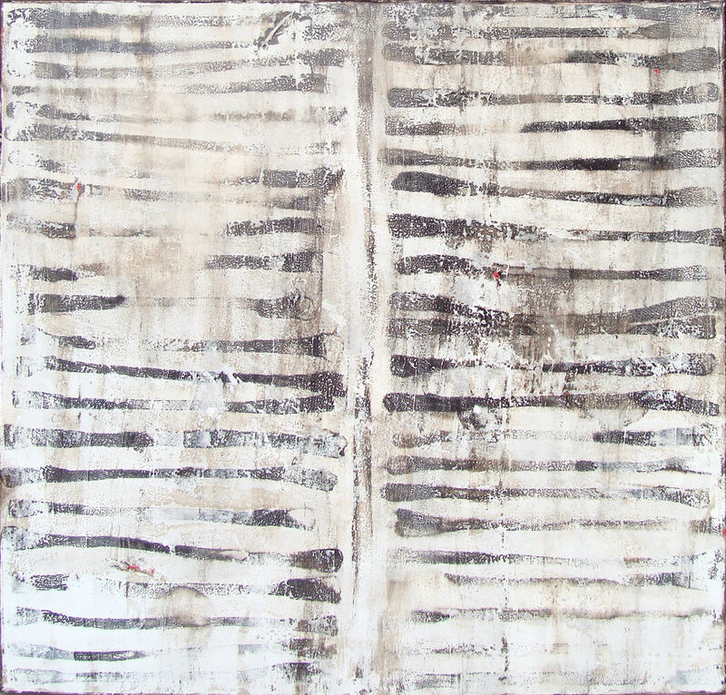 Michelle Y Williams, 'Row', 2019, Painting, Mixed media on canvas, Addison Gallery