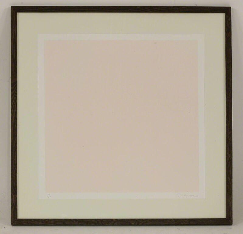 William Turnbull, 'Untitled', 1968, Print, Screenprint in pink, Sworders