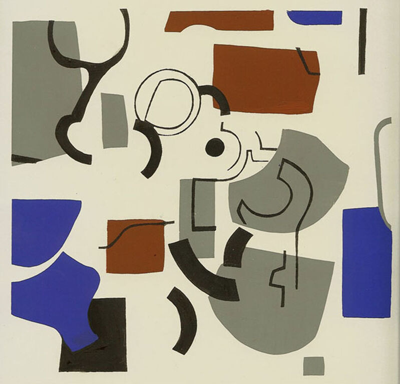Judith Rothschild, 'Composition', 1945, Print, Screenprint, Dolan/Maxwell