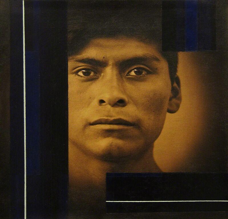 Luis González Palma, 'Möbius', 2014, Photography, Photograph printed on canvas, acrylic paint, Lisa Sette Gallery