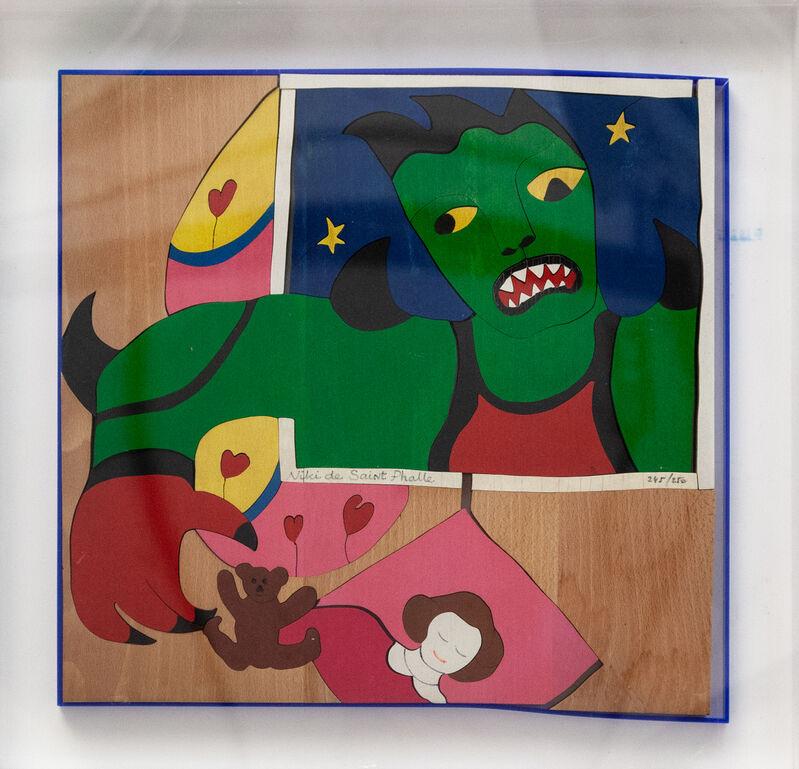 Niki de Saint Phalle, 'Méchant méchant ', 1993, Sculpture, Mixed media and assembly on wood, Artrust
