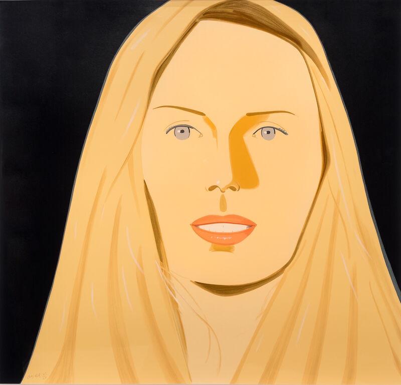 Alex Katz, 'Sara', 2012, Print, Silkscreen on museum board, Leslie Sacks Gallery
