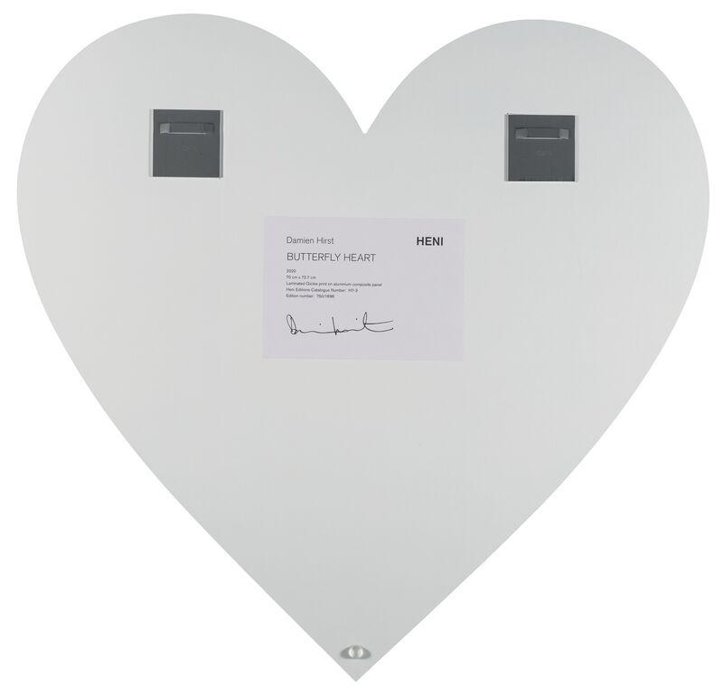Damien Hirst, 'Butterflu Heart', 2020, Print, Laminated giclée print on aluminum composite panel, Heritage Auctions