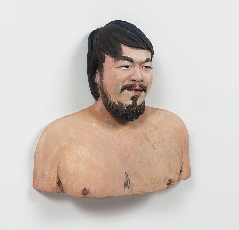 John Ahearn, 'Ai Weiwei', 1993, Sculpture, Acrylic on plaster, Alexander and Bonin