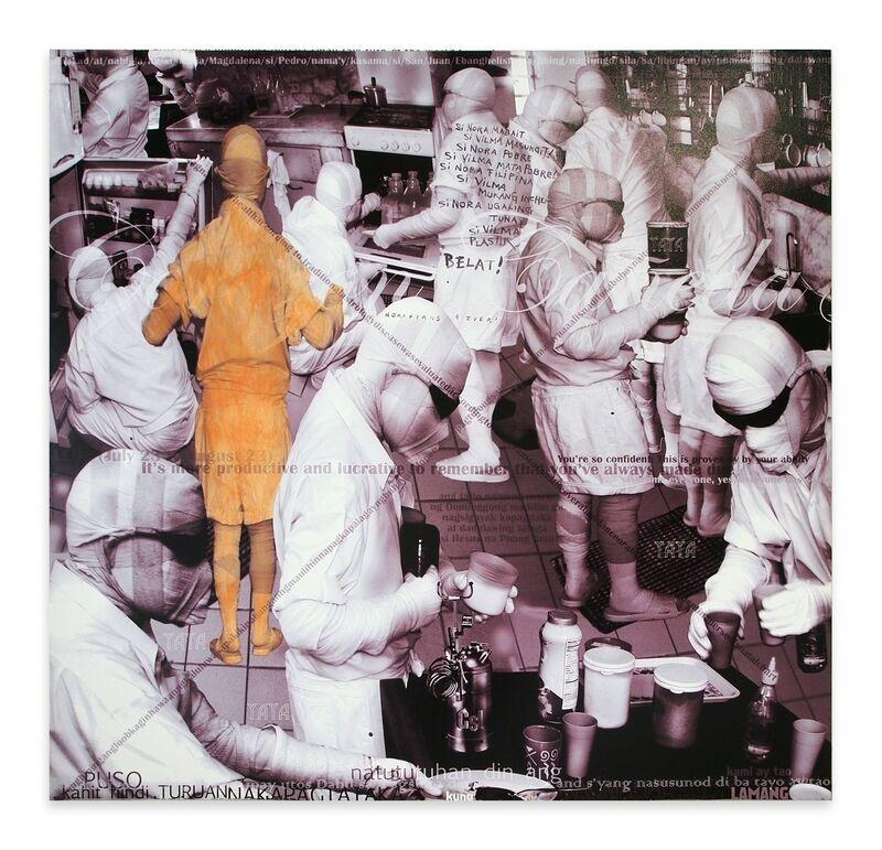 Jose Tence Ruiz, 'CSI: Chimoy si Imbisibol Kusina', 2007, Mixed Media, MYK Electrostatic print and acrylic on canvas, Artinformal