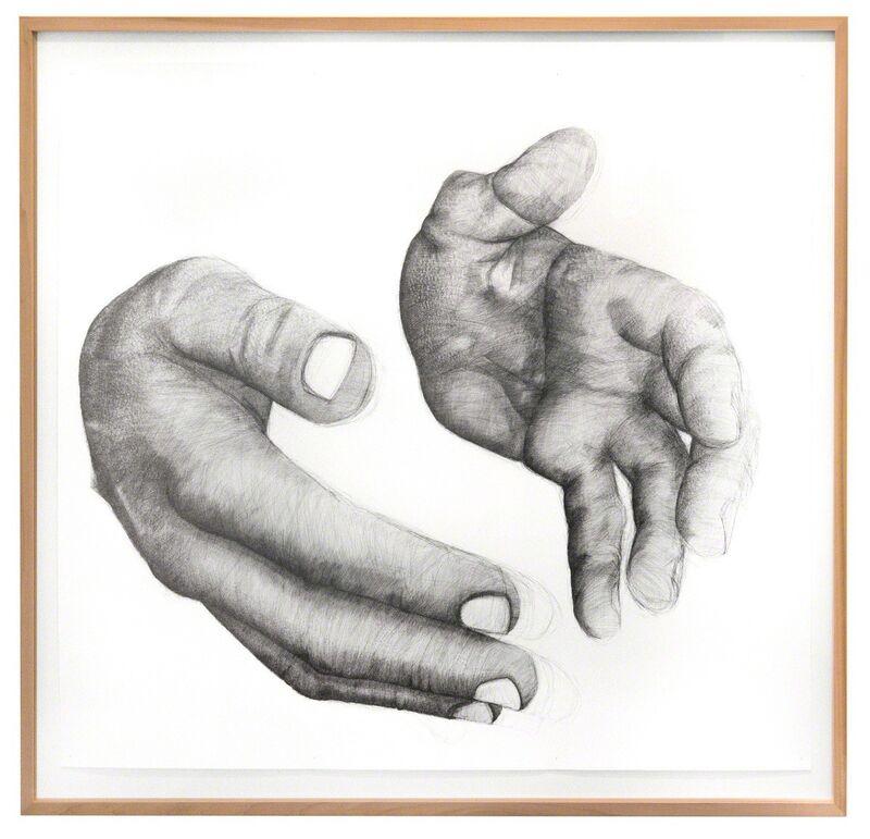 Simon Pfeffel, 'erfassen ', 2017, Drawing, Collage or other Work on Paper, Ballpen on paper, galerie burster