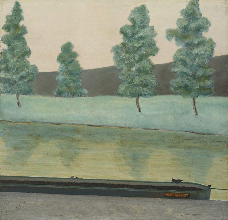 Louis-Auguste Déchelette, 'Nonchalant', not dated, Painting, Oil on canvas, Jeanne Bucher Jaeger