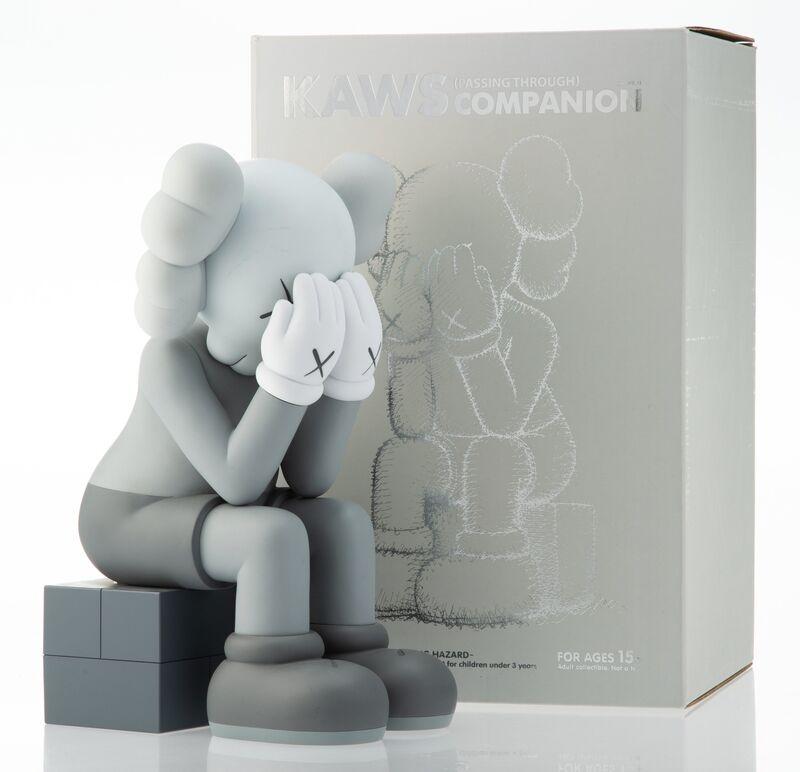 KAWS, 'Passing Through (Grey)', 2013, Sculpture, Painted cast vinyl, Heritage Auctions