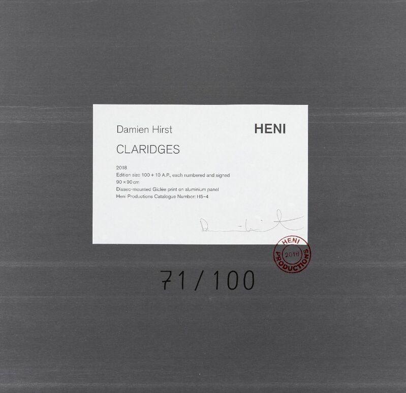 Damien Hirst, 'Claridges [H5-4]', 2018, Print, Diasec mounted giclée print in colours on aluminium panel, Roseberys