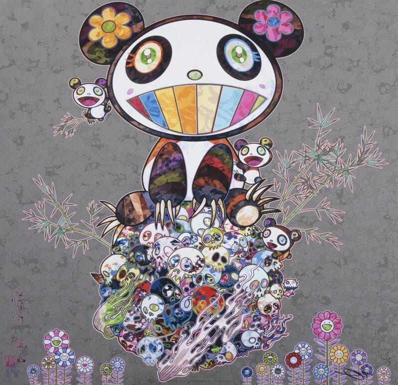 Takashi Murakami, 'Panda & Panda Cubs', 2013, Print, Offset lithograph on paper, Julien's Auctions