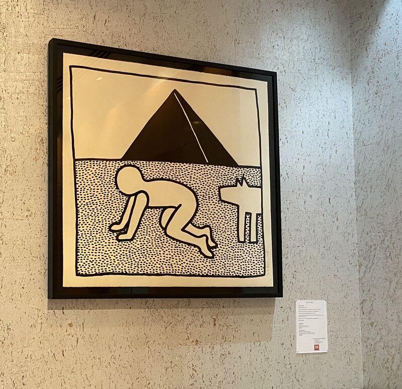 Keith Haring, 'The Blueprint Drawings #17', 1990, Print, Screenprint on wove paper, Fine Art Mia