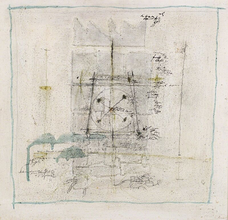 Magdalo Mussio, 'Untitled', 1988, Mixed Media, Mixed media on panel, Finarte