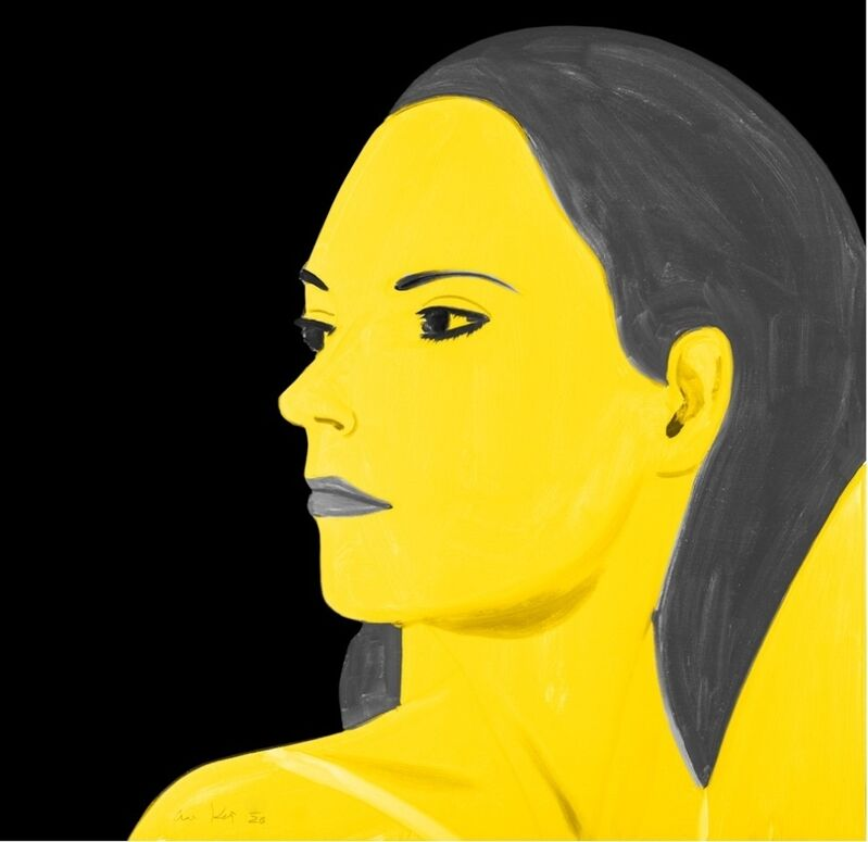Alex Katz, 'Yellow Laura', 2018, Print, Archival pigment inks on Crane Museo Max 365 gsm fine art paper., Frank Fluegel Gallery