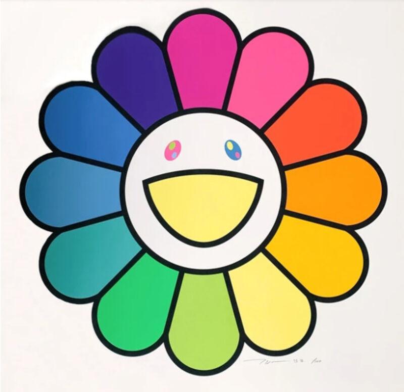Takashi Murakami, 'Ms. Rainbow Flower', 2020, Print, Silkscreen, Lougher Contemporary