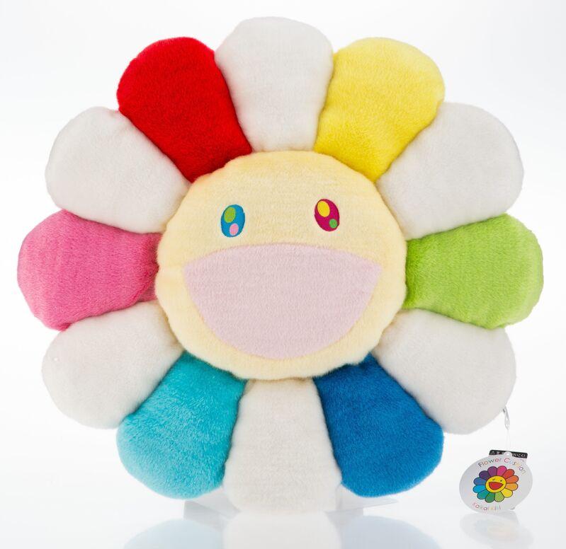 Takashi Murakami, 'Flower Cushion (Rainbow)', Other, Polyester plush pillow, Heritage Auctions