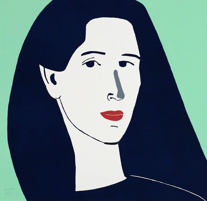 Alex Katz, 'Diana', 2014, Print, Linocut, ArtWise