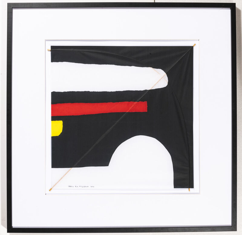 Pablo Figueroa, 'Composition 04', 2020, Drawing, Collage or other Work on Paper, Silk paper, wood, DerniersJours