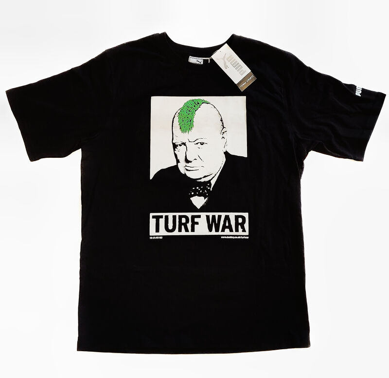 Banksy, 'Turf War', 2003, Fashion Design and Wearable Art, Limited edition T-Shirt, Tate Ward Auctions