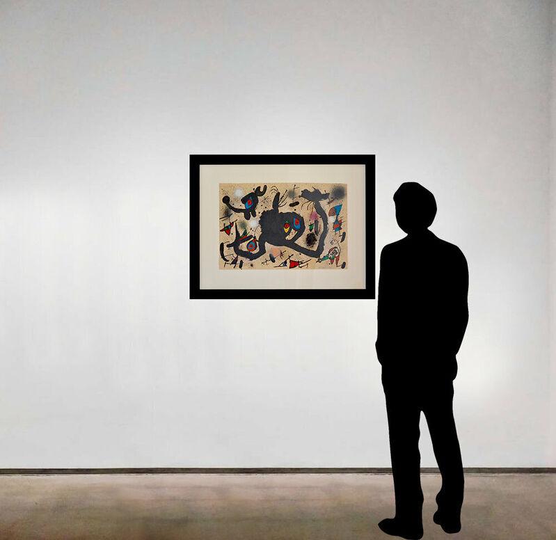 Joan Miró, 'El Vol de l'Alosa', 1973, Print, Lithograph on Guarro watermarked Miró paper, Long-Sharp Gallery